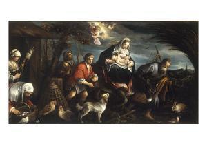 The Flight into Egypt by Jacopo Bassano