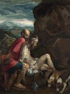 The Good Samaritan, Ca 1562-1563 by Jacopo Bassano