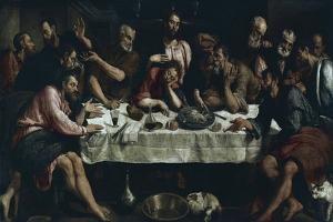 The Last Supper, 1542 by Jacopo Bassano
