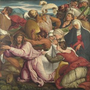 The Way to Calvary, Ca 1545 by Jacopo Bassano