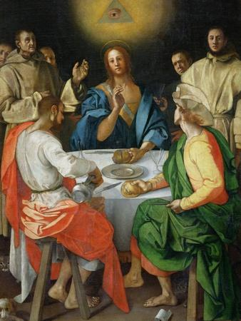 The Supper at Emmaus, 1525