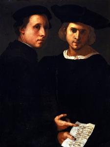 The Two Friends by Jacopo da Carucci Pontormo