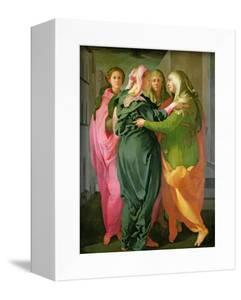 The Visitation, 1528-30 (Fresco) (See 208284 and 60439 for Details) by Jacopo da Carucci Pontormo