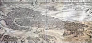 Grande Pianta Prospettica - Venice, C.1500 by Jacopo De' Barbari