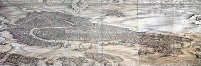 Grande Pianta Prospettica - Venice, C.1500