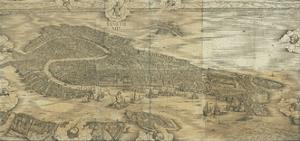Map of Venice in 1500 by Jacopo De Barbari