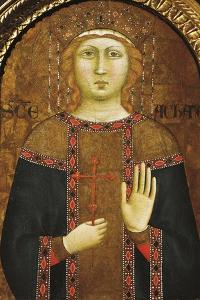 St Agatha by Jacopo Del Casentino