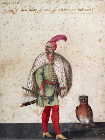 Turkish Soldier with Owl