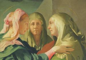 The Visitation, 1528-30 by Jacopo Pontormo