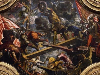 Conquest of Riva Del Garda by Venetians