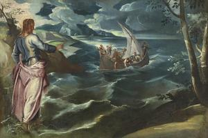 Christ at the Sea of Galilee, c.1575-80 by Jacopo Robusti Tintoretto