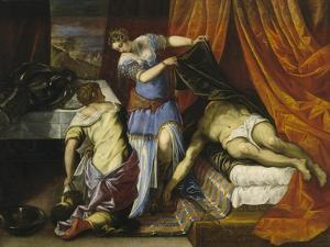 Judith and Holofernes, c.1577 by Jacopo Robusti Tintoretto