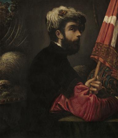 Portrait of a Man as Saint George, 1540-50