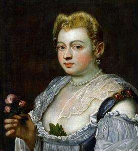 Portrait of an Unknown Lady by Jacopo Robusti Tintoretto