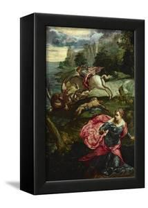 Saint George and the Dragon by Jacopo Robusti Tintoretto
