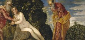 Susannah and the Elders, 1552-55 by Jacopo Robusti Tintoretto