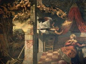 The Annunciation by Jacopo Robusti Tintoretto