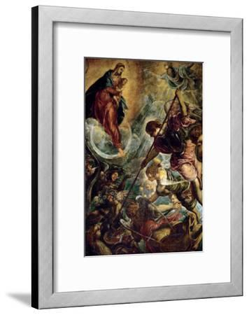 The Archangel Michael Fights Satan, (Revelation 12, 1-9)