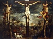 The Archangel Michael Fights Satan, (Revelation 12, 1-9)-Jacopo Robusti Tintoretto-Giclee Print