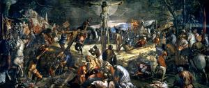 The Crucifixion of Christ, 1565 by Jacopo Robusti Tintoretto