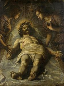 The Dead Christ with Two Angels by Jacopo Robusti Tintoretto