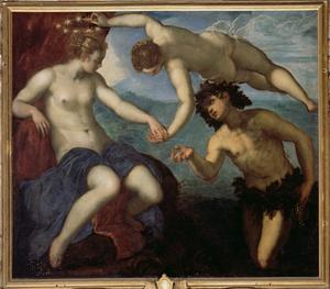 The Discovery of Ariadne, 1578 by Jacopo Robusti Tintoretto