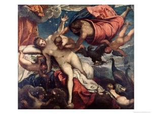 The Origin of the Milky Way, circa 1575-80 by Jacopo Robusti Tintoretto