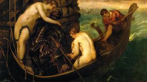 The Rescue of Princess Arsinoe by Jacopo Robusti Tintoretto