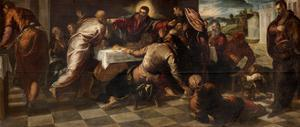 The Supper at Emmaus by Jacopo Robusti Tintoretto