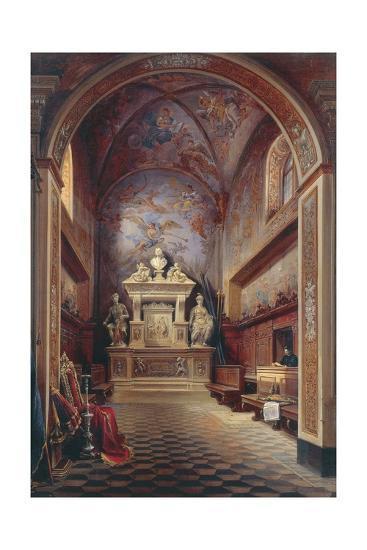 Jacopo Sannazzaro's Tomb-Gabriel Carelli-Giclee Print