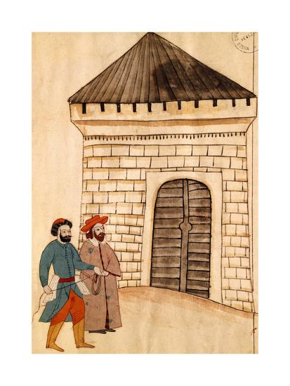 Jacopo Soranzo, the Venetian Ambassador to Constantinople, Miniature from Turkish Memories--Giclee Print