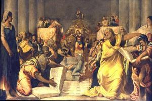 Christ Among the Doctors by Jacopo Tintoretto