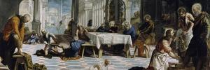 Christ Washing the Feet of the Disciples, 1548 by Jacopo Tintoretto