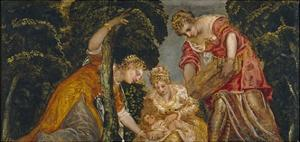 The Finding of Moses by Jacopo Tintoretto