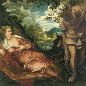 The Meeting of Judah and Tamar by Jacopo Tintoretto