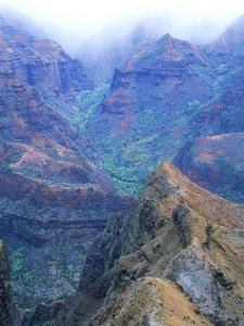 Waimea Canyon, Kauai, Hawaii by Jacque Denzer Parker