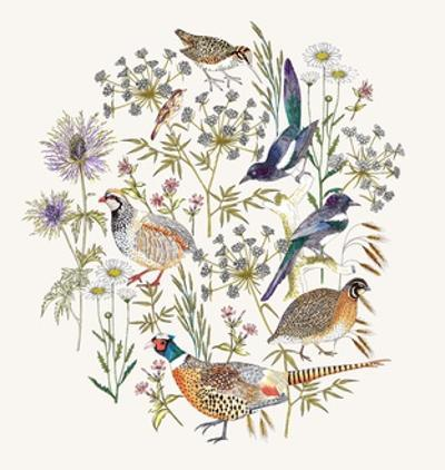 Woodland Edge Birds Placement by Jacqueline Colley
