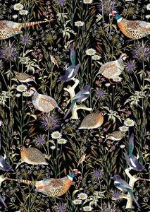 Woodland Edge Birds by Jacqueline Colley