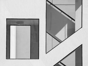 Stairwell Geometry by Jacqueline Hammer