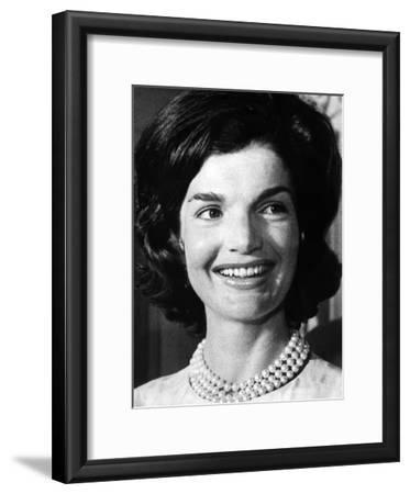 Jacqueline Kennedy as First Lady, ca 1962