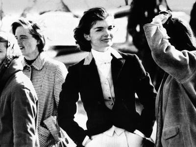 Jacqueline Kennedy at a Hunt in Virginia in June 1961--Photo