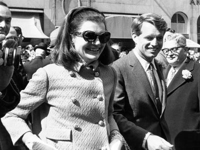 Jacqueline Kennedy in St Patrick's Day Parade--Photo