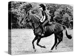 Jacqueline Kennedy, Riding a Horse in Waterford, Ireland, Jun 16, 1967