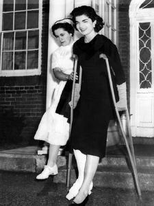 Jacqueline Kennedy, Wife of Senator John Kennedy She Leaves New England Baptist Hospital