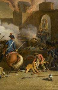 Prise du palais des Tuileries, cour du Carrousel, 10 août 1792 by Jacques Bertaux