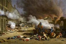 Prise du palais des Tuileries, cour du Carrousel, 10 août 1792-Jacques Bertaux-Giclee Print