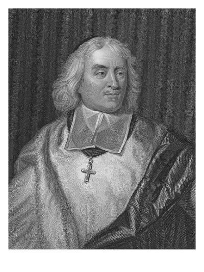 Jacques Bossuet, Engraved by Richard Woodman (Engraving)-Hyacinthe Rigaud-Giclee Print