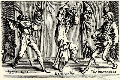Balli di Sfessania - from etchings by Jacomo Callot