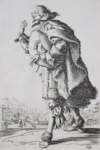 Etching from the Noblesse Series by Jacques Callot
