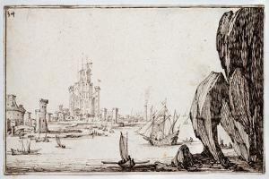 Harbour by Jacques Callot